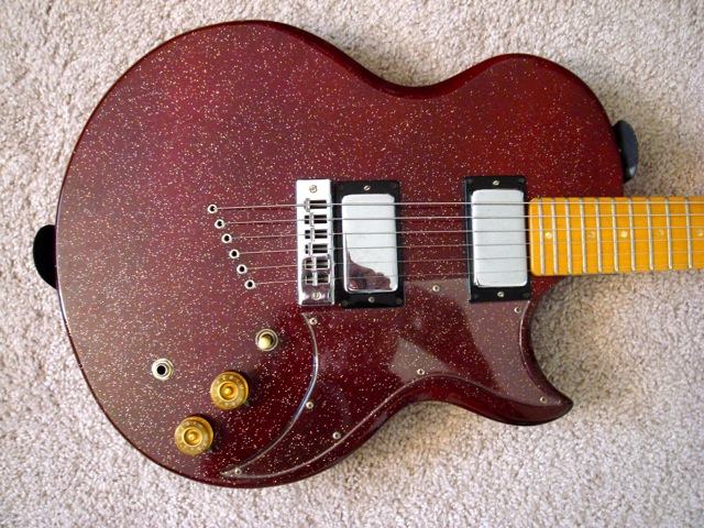 Gibson L6S Body Front